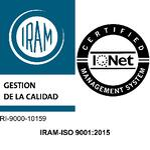 Logo ISO 9001 con IQNet-1