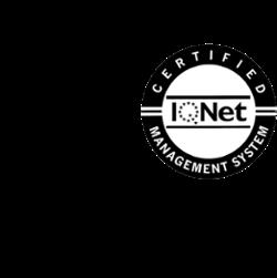 Logo ISO 9001 con IQNet