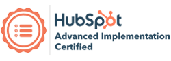 Hubspot advanced implementation certified